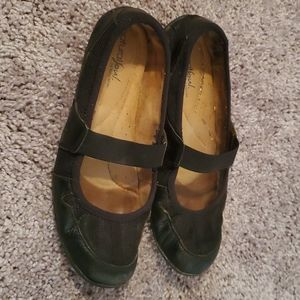 Black Naturalizer Mary Janes - 7.5